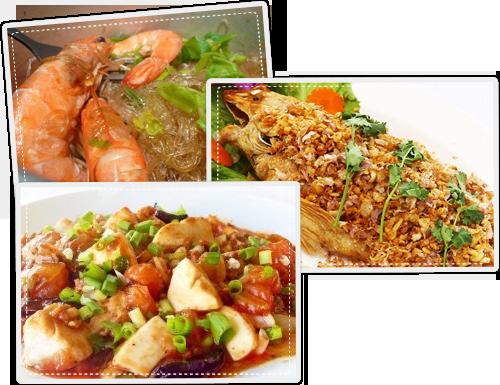 อาหาร วิมานน้ำรีสอร์ท รีสอร์ท บ้านพัก ล่องแก่ง พะเนินทุ่ง ทะเลหมอก ร้านอาหาร